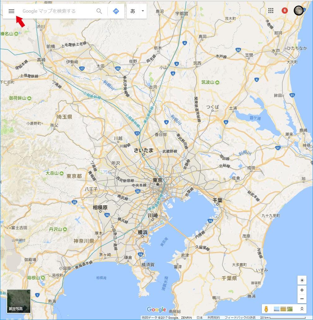 旅行計画・旅行記のルートづくりにGoogleマイマップ(経由地10箇所以上)