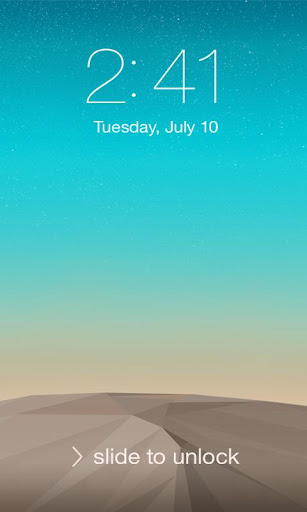 Lock Screen LG G3 Theme screenshot 6