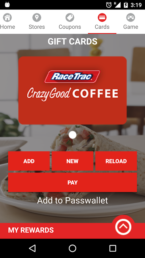 RaceTrac- screenshot