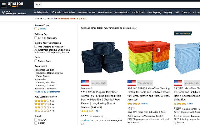 Cellar: Amazon seller's country as you browse