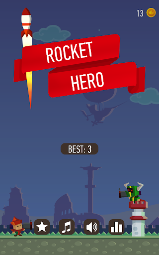 Rocket Hero Boom