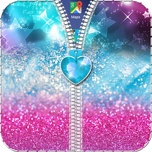 Glitter Zipper Lock – Beautiful zipper