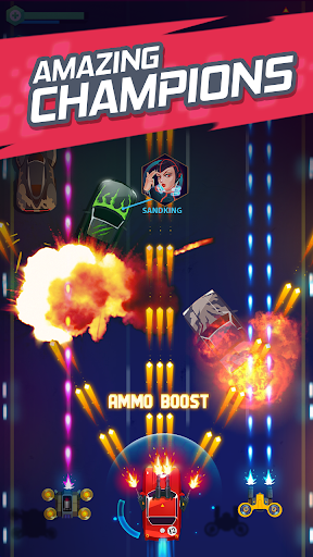 Screenshot for Road Rampage: Racing & Shooting to Revenge in United States Play Store