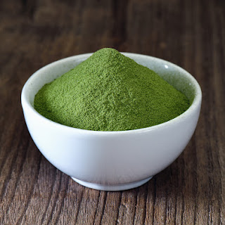 Matcha Green Tea Protein Balls.