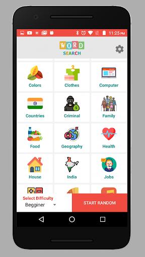 IndianWordsSearch 1.1 screenshots 6