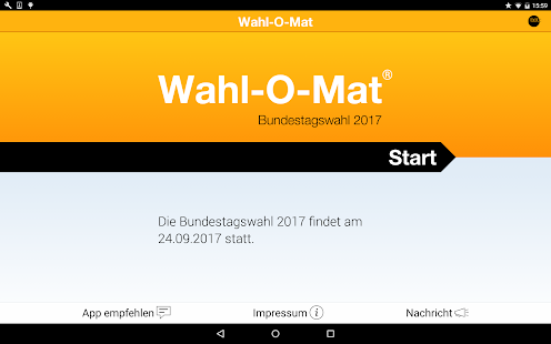 Wahl-O-Mat- screenshot thumbnail