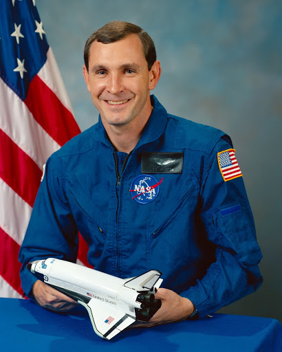 Official portrait of 1987 astronaut candidate Curtis L. Brown, Jr