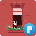 Cat and Window Launcher Theme icon