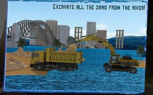 Transport-Truck-3D-River-Sand 6