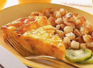 Crustless Chicken Quiche Recipe