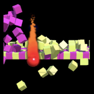 Fire Fall with leaderboard