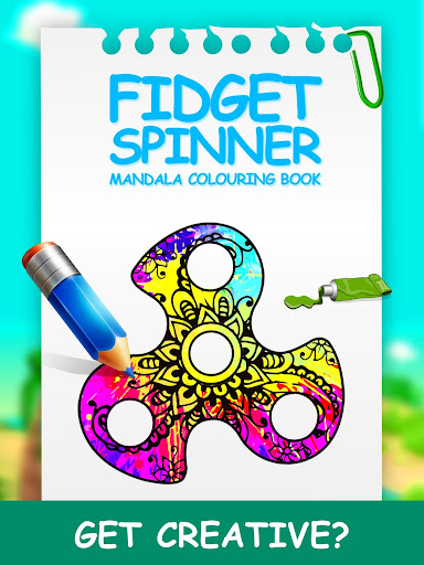 Fidget Spinner Mandala Coloring Book Game Apk Free Download For Android PC Windows