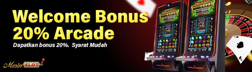 Welcome Bonus 20% Arcade