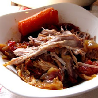Beer-Braised Pulled Pork Shoulder.