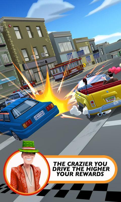 Crazy Taxi™ City Rush screenshot #4