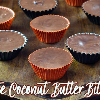 Chocolate Coconut Butter Bites.