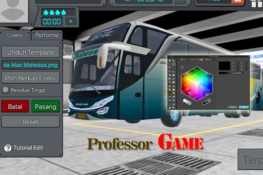 Livery BUS and Skin Complete 1 screenshots 1