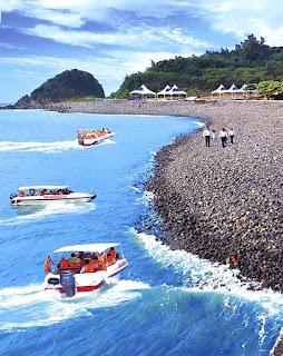 Hành trình tàu cao tốc thăm đảo Ngư