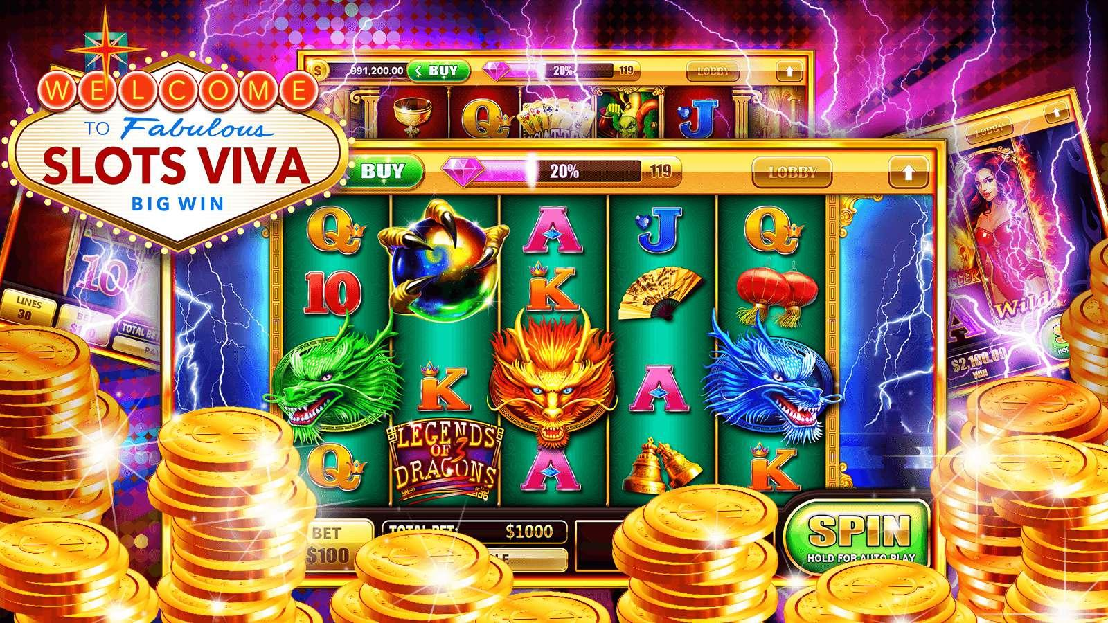 viva slot machine