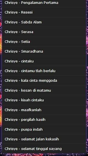 Song chrisye full mp3 apk download | apkpure. Co.