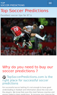 Soccer Predictions- screenshot thumbnail