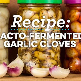 Lacto-Fermented Garlic Cloves Recipe