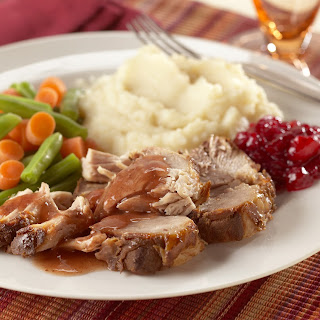 Slow-Cooked Spiced-Cranberry Pork Roast.