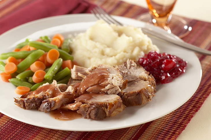 Slow-Cooked Spiced-Cranberry Pork Roast Recipe