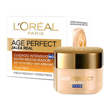 CREMA L´ORÉAL AGE   PERFECT JALEA REAL NOCHE X50ML