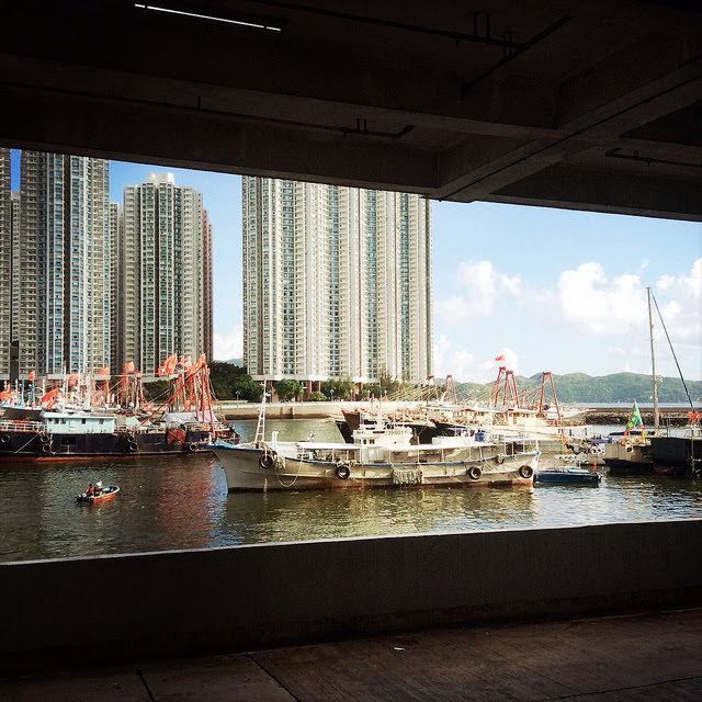 View, Aberdeen Harbour,   香港仔灣, 景色