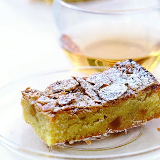 Ginger And Almond Slice.