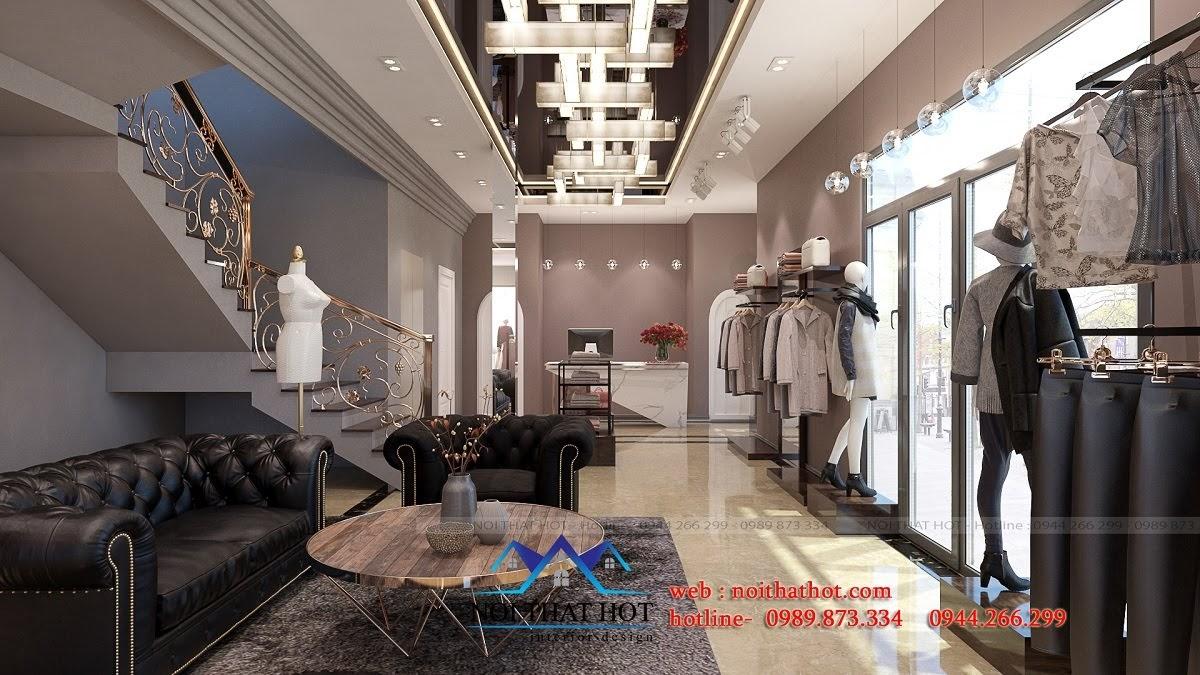 thiết kế shop thời trang sang trọng 5