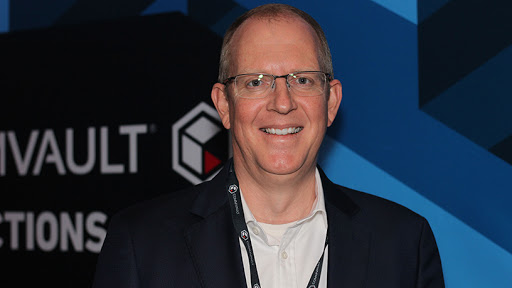 Johan Scheepers, country head for South Africa at Commvault.