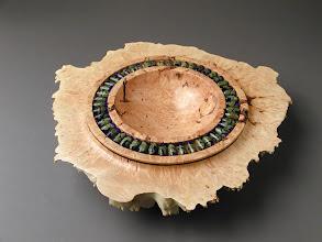 Photo: Untitled Joe Millsap, turner Susan Chambers, beadmaker