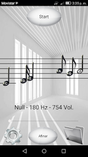 Partiture Live - Sound to Sheet Music in Real Time Screenshot
