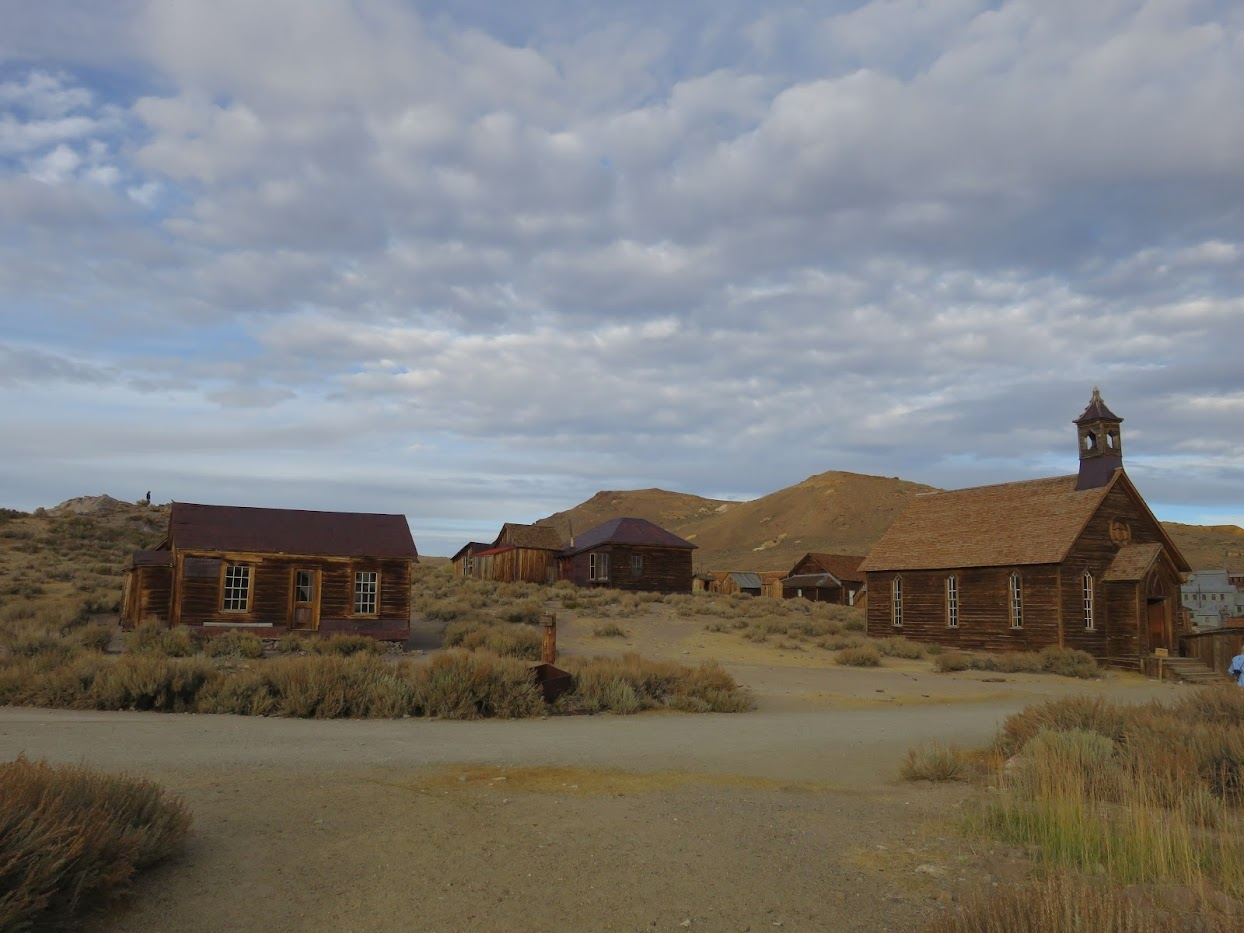 spookstad in Amerika roadtrip California Bodie State Historic Park