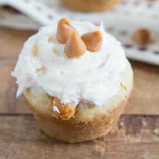 Miniature Caramel Filled Butterscotch Cookie Cups