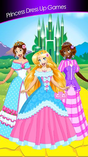 公主装扮游戏