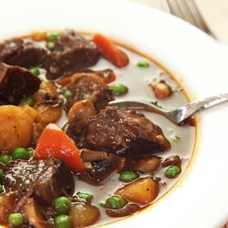 Pressure Cooker American Beef Stew Recipe
