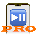 Pause playback button PRO icon