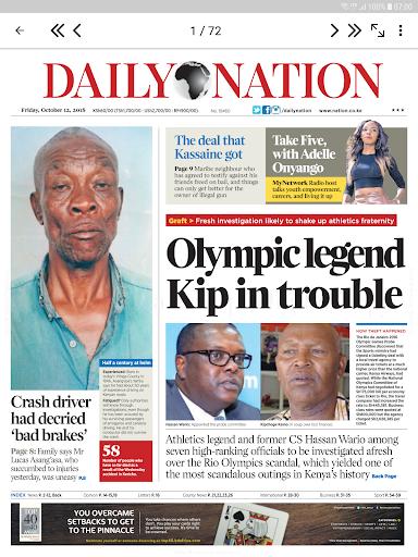 nation newspaper kenya