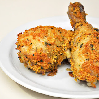 Amazing Oven Fried Chicken.