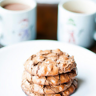 Flourless Hot Cocoa Cookies