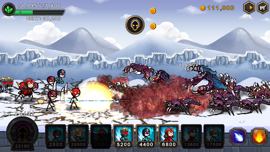 HERO WARS: Super Stickman Defense 4