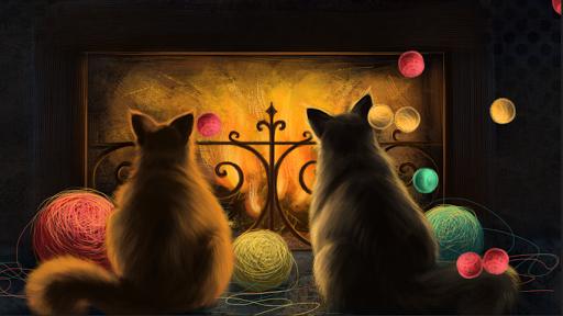 玩個人化App|Cute Cats Live Wallpaper Full免費|APP試玩