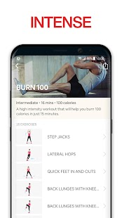 HIIT Workouts | Sweat & lose weight in 30 days! Screenshot