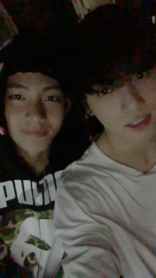 Just 20+ Of The Cutest 'VKook' Selfies V & Jungkook Have