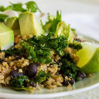 Mexicali Quinoa Kale & Black Bean