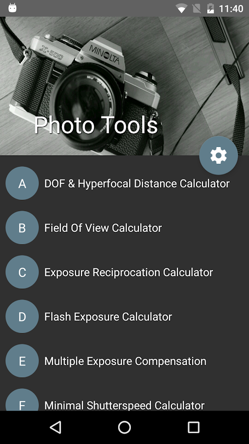 Photo Tools- screenshot