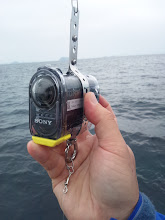 """Photo: 最近の進化はスゴイ! これは、""""さくらいさん""""の水深60mまで対応できる水中カメラ!"""